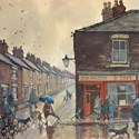 Norman Cornish picture of Eddy's Fish and Chip Shop