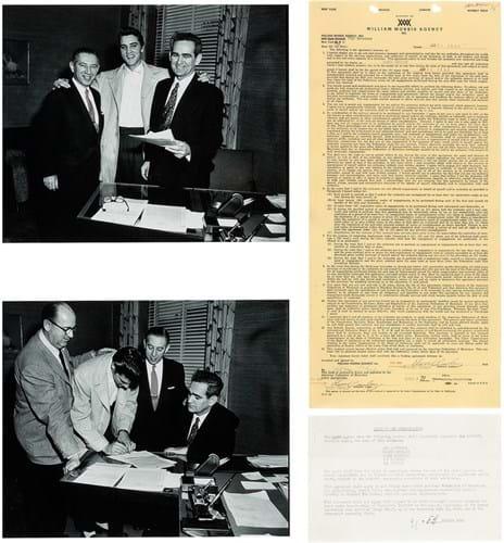 Elvis contract