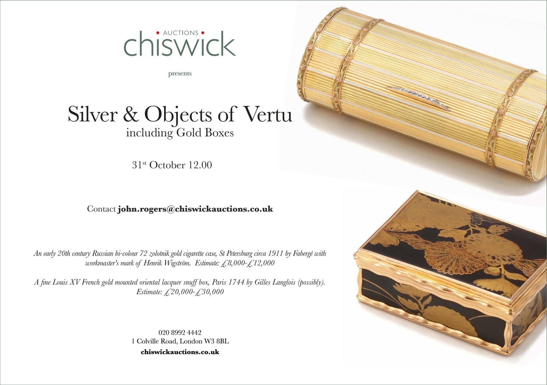 Chiswick - Silver | Antiques Trade Gazette