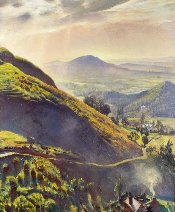 View from the Malvern Hills by Laura Knight