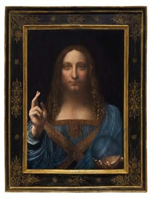 Leonardo da Vinci's 'Salvator Mundi'