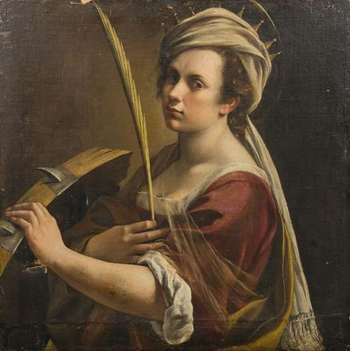 Artemesia Gentileschi painting at auction