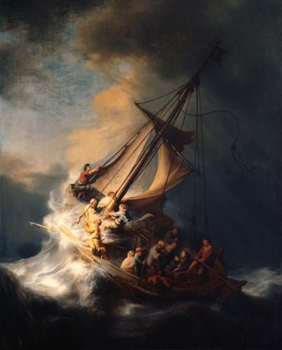 Rembrandt van Rijn's 'Christ in the Storm on the Sea of Galilee'