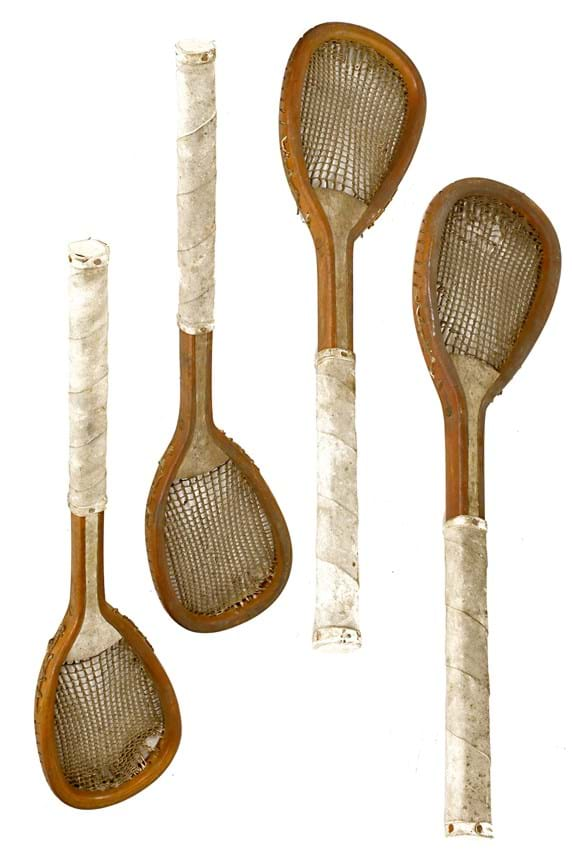 real tennis rackets
