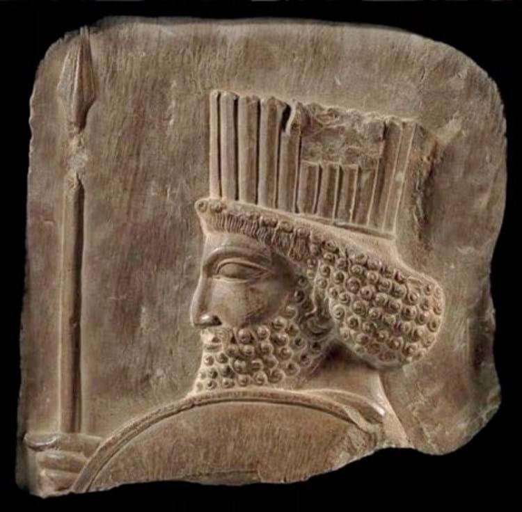 Persian guard relief