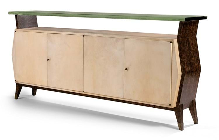 palmwood sideboard by Eugène Printz