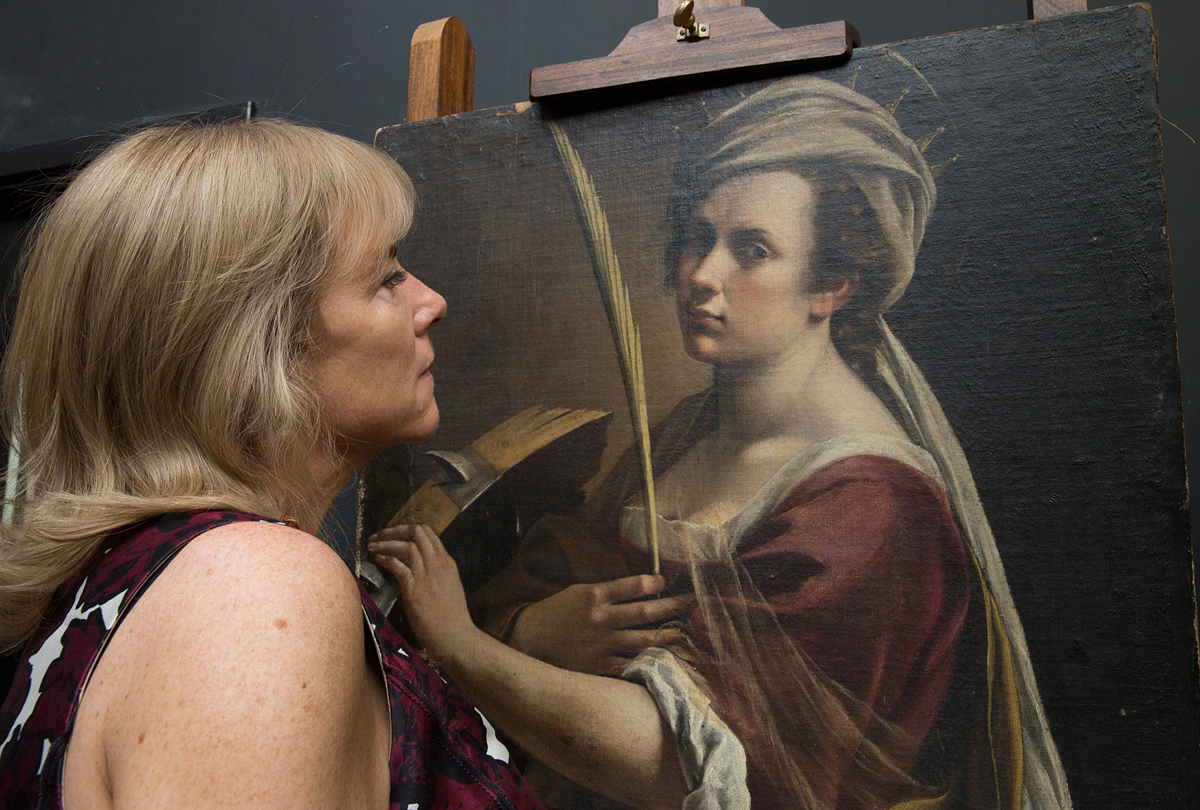 National Gallery Acquires Record Setting Self Portrait Of Artemisia