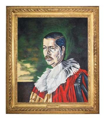 Dominic Elwes (British, 1931-1975) Portrait of Lord Lucan.jpg