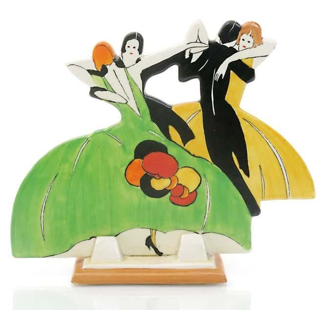 Clarice Cliff's Age of Jazz figures
