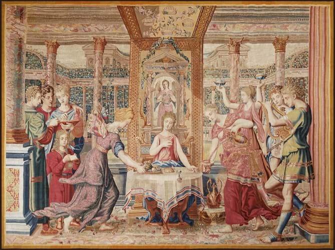 Boccara Gallery Le repas de Psyché dans le palais de l'Amour