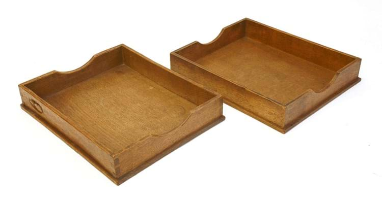 Mouseman paper trays Horlicks collection