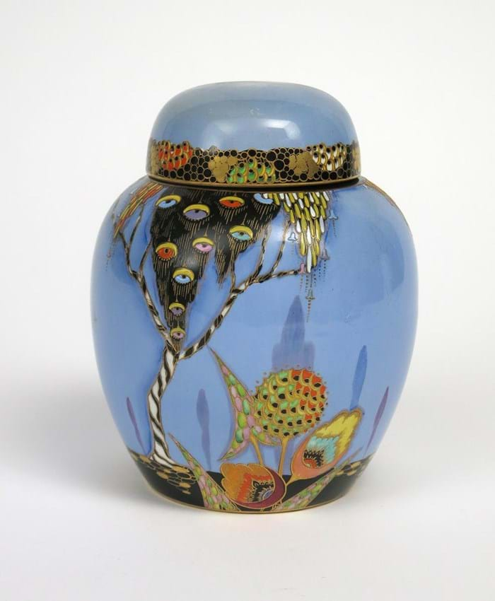 lot 1266 Carlton ware jar 2363.jpg