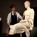 funerary statue of a Roman poet