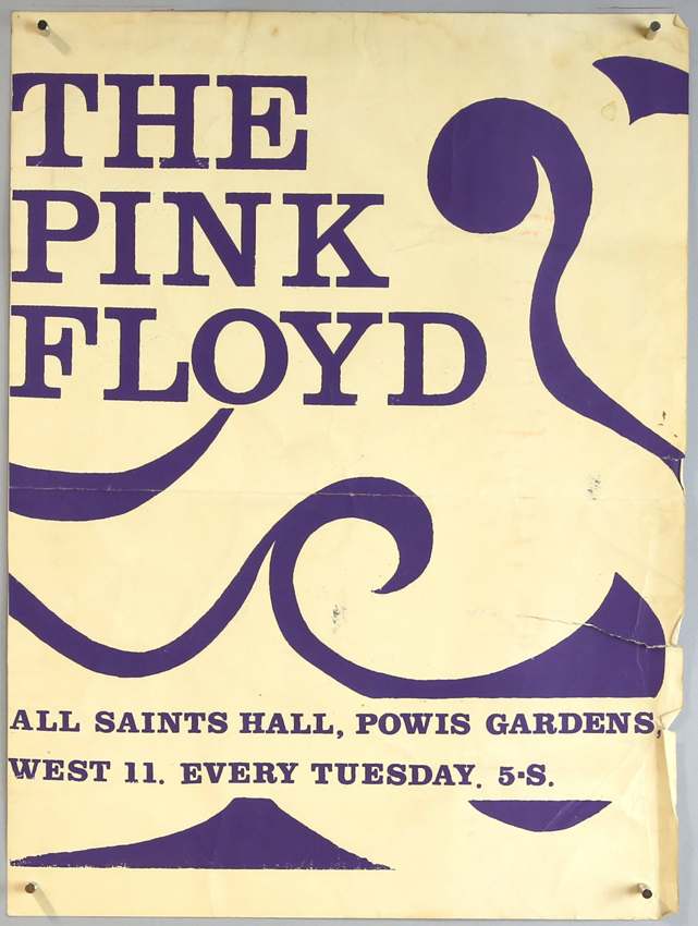 one of those days in the saleroom as early pink floyd concert