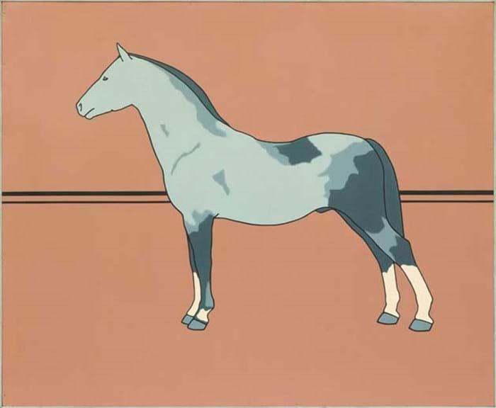 'Pony' by Patrick Caulfield