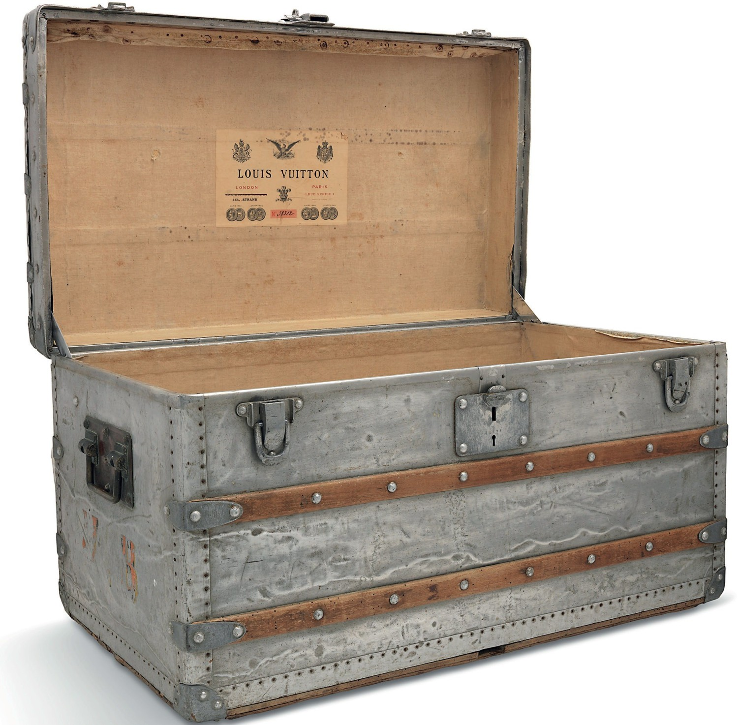 c75f7bd87026 Pick of the week  Rare Louis Vuitton travel trunk full of interest ...