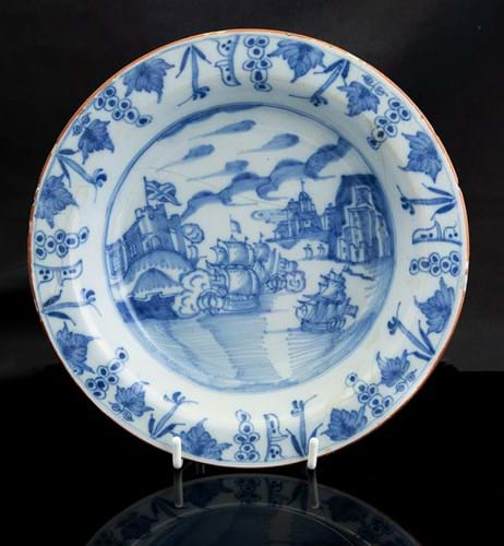Liverpool delft soup bowl