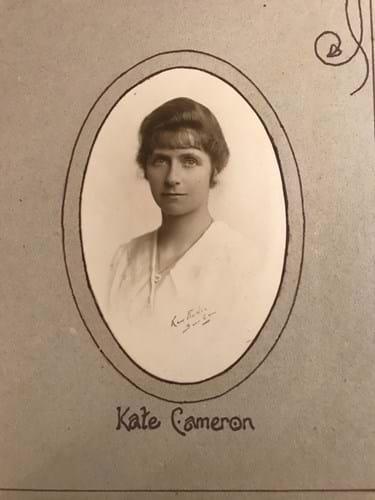 Nurse Katharine Ross Cameron