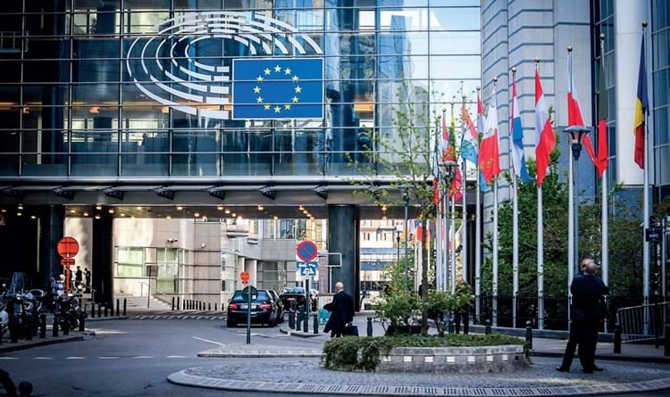 The European Union in Brussels