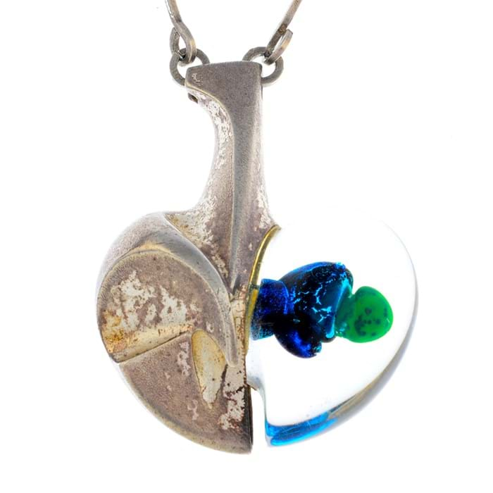 Lot 249: Lapponia 'Space Apple' pendant by Björn Weckström – estimate £300-400 at Fellows' Antique & Modern Jewellery sale on 24 January