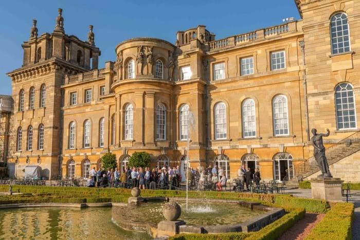 A CADA reception at Blenheim Palace