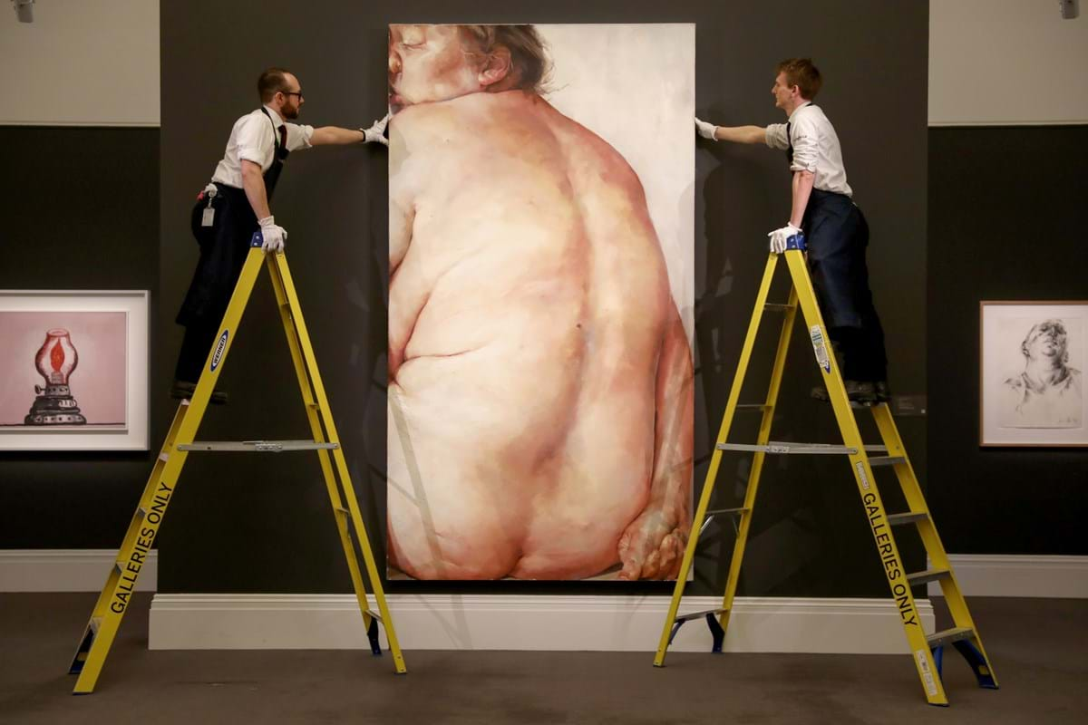 'Juncture' by Jenny Saville