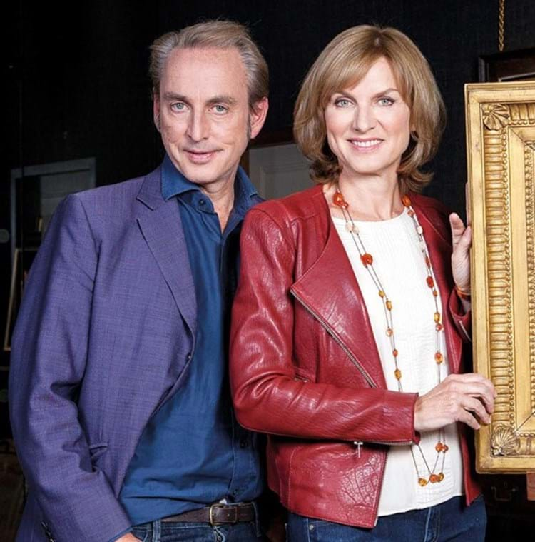 Philip Mould and Fiona Bruce