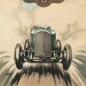 1927 Christmas card from Bentley Motors
