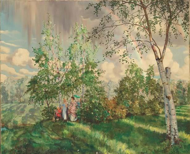 'The Rainbow' by Konstantin Somov