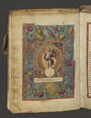 Manuscript prayer book