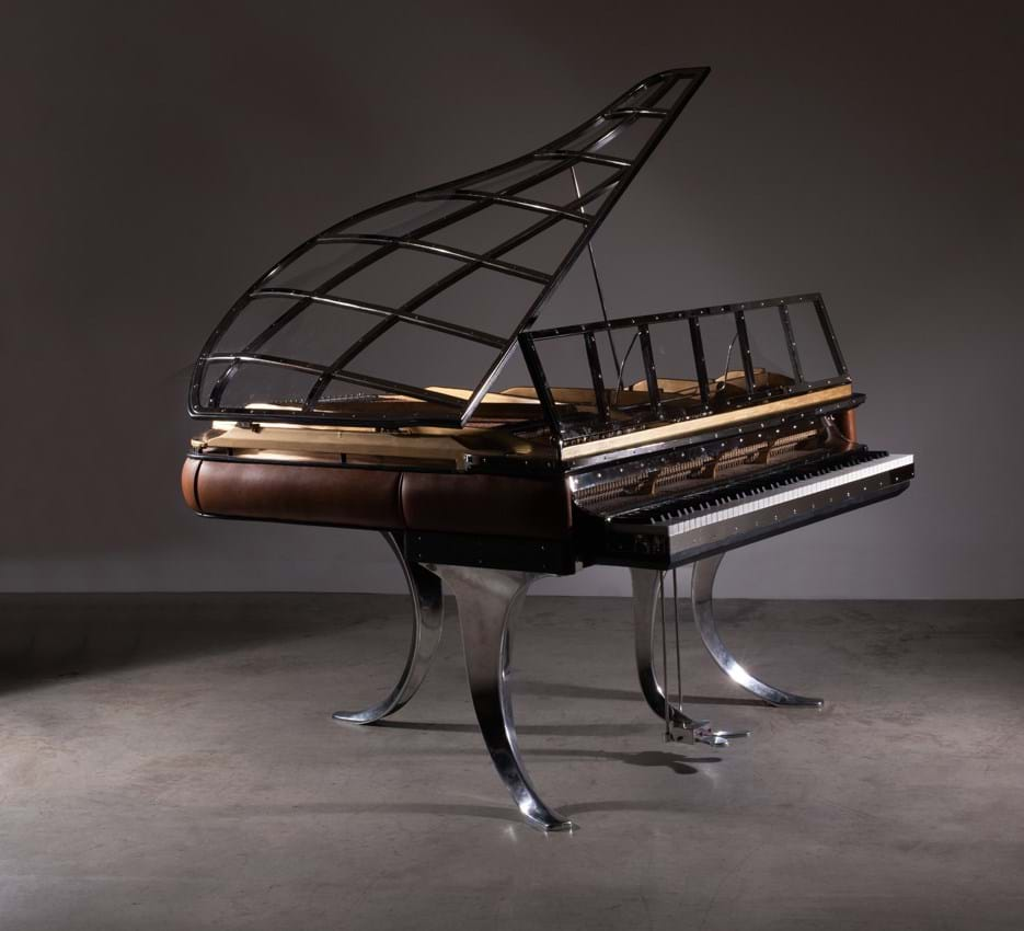 Poul Henningsen's grand piano