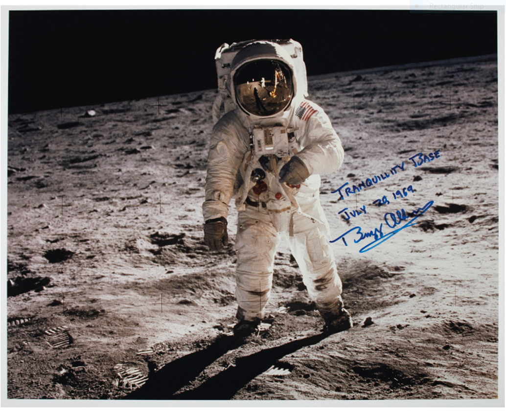 apollo 11 moon landing log offered in huge sale