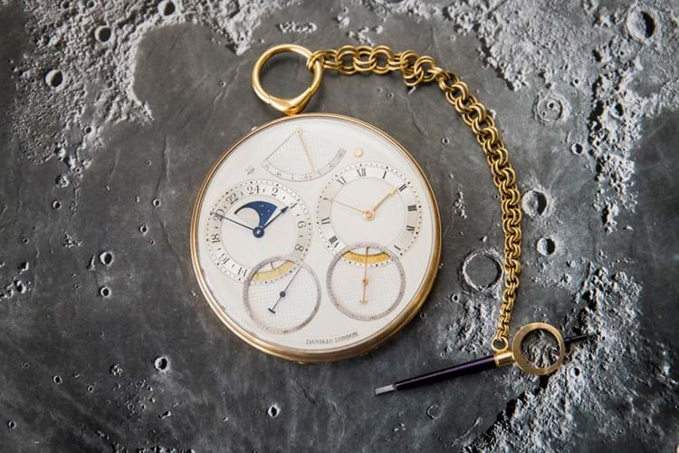 1982 Space Traveller I, a George Daniels pocket watch