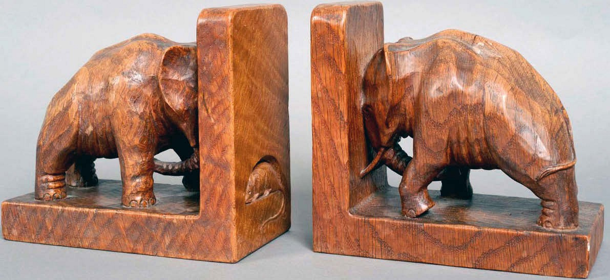 Rising market for Mouseman as bookends sell for £10,000