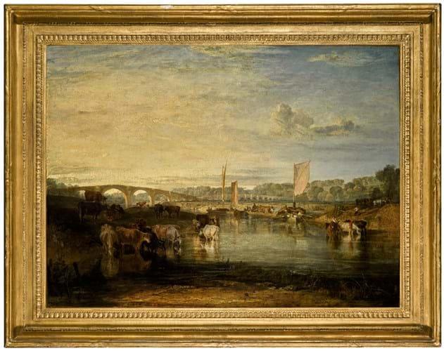 'Walton Bridges' by JMW Turner