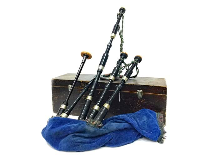 A set of Highland bagpipes by R G Lawrie will feature in McTear's dedicated bagpipe auction on 15th August.jpg