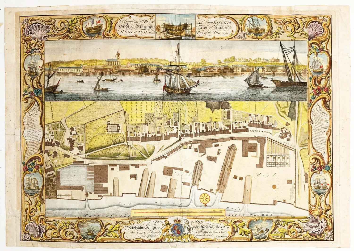 Pick of the week: 18th century dockyard plans detailing the