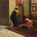 'The Qanun Player' by Ludwig Deutsch