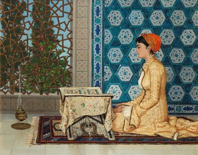 Osman Hamdi Bey art