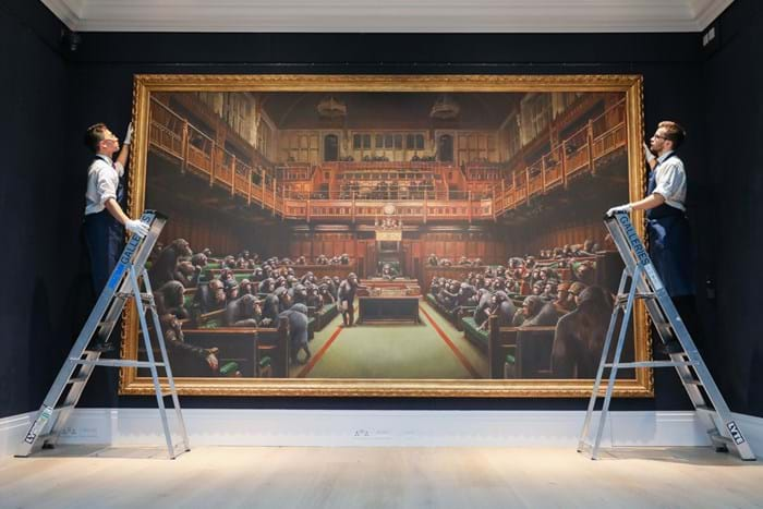 'Devolved Parliament by Banksy