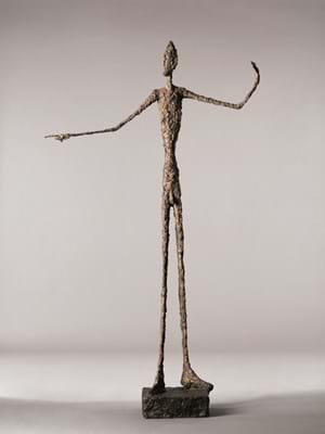 L'homme au doigt (Pointing Man) by Alberto Giacometti