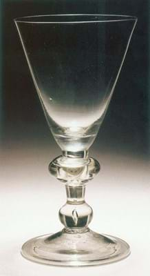 Baluster glass from Bonhams sales of the Harveys Wine Museum collection