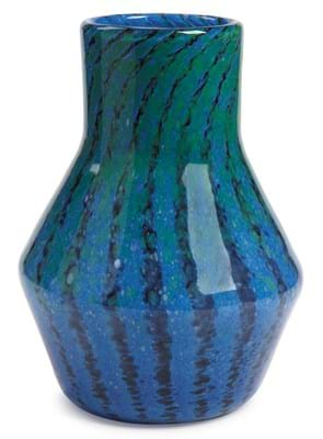 Monart ovoid vase with a cylindrical neck
