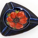Moorcroft Anemone pattern ashtray