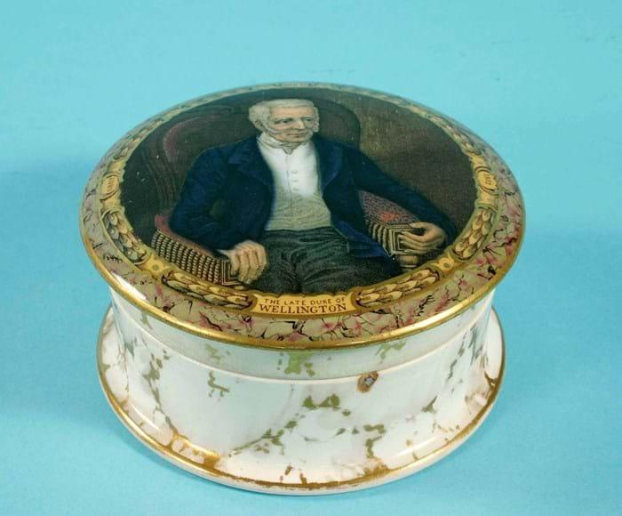 Duke of Wellington pot lid