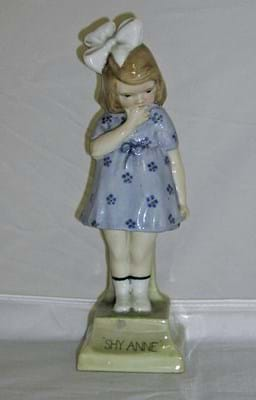 Royal Doulton figure Shy Anne