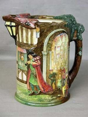 Royal Doulton Pied Piper limited edition jug