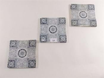 Victorian transfer printed tiles