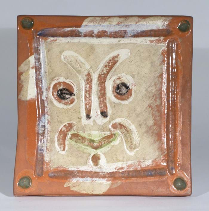 Picasso Madoura pottery tile