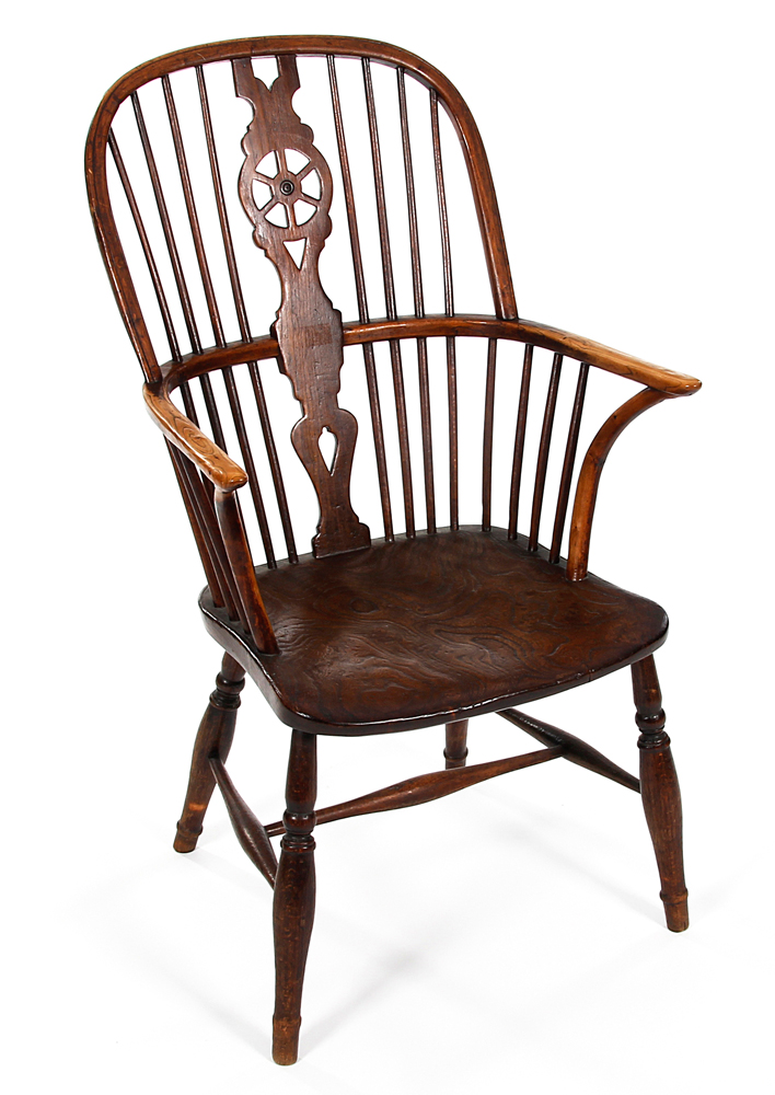 Windsor high-back armchair Bonhams - Guide To Buying Windsor Chairs